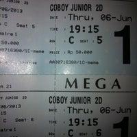 Photo taken at Cinema 21 by Oktama A. on 6/6/2013