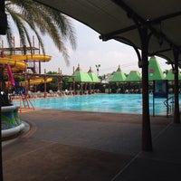 Photo taken at Fantasia Lagoon by Krit P. on 11/6/2014