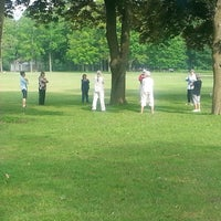 Photo taken at MHC Hurling Pitch by Carl W. on 6/28/2014