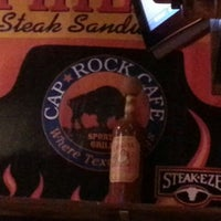 Photo taken at Caprock Cafe by Lea S. on 6/27/2013