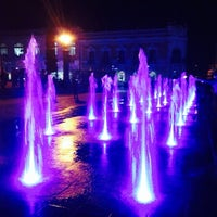 Photo taken at Plaza de Armas by Julian C. on 12/27/2013