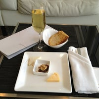 Photo taken at Etihad First Class Lounge & Spa by Steve L. on 6/24/2013