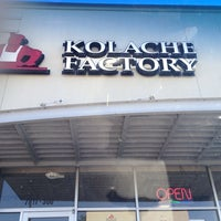 Photo taken at Kolache Factory by Dafer A. on 9/27/2013