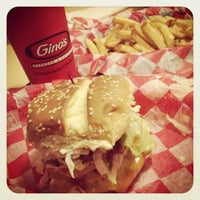 Photo taken at Gino's Burgers & Chicken by George L P. on 6/11/2013