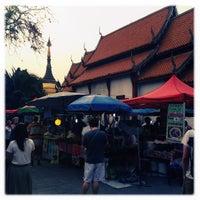 Photo taken at Chiangmai Walking Street by Lili on 4/7/2013