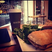 Photo taken at deVille Luxury Coffee & Pastries by Paolo R. on 11/22/2012