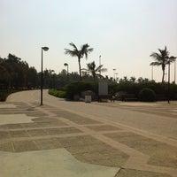 Photo taken at Al Mamzar Park by Jovian A. on 10/12/2012