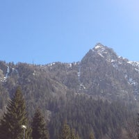 Photo taken at Albergo Alpenrose by Albergo Alpenrose di Franco Bieler on 4/15/2013