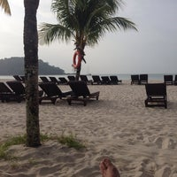 Photo taken at Mutiara Burau Bay Beach Resort by Osse F. on 12/31/2013
