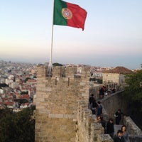 Photo taken at São Jorge Castle by Edmund M. on 10/11/2013