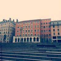 Photo taken at Place Louis Pradel by Marc C. on 4/20/2013