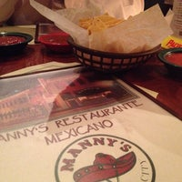 Photo taken at Manny's Mexican Restaurant by Emily on 10/19/2013