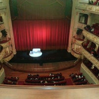 Photo taken at Teatro Municipal de Lima by Jennifer Q. on 7/1/2013