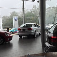 Photo taken at Volkswagen by Jacqueline S. on 10/8/2013