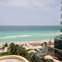 Photo taken at DoubleTree by Hilton Ocean Point Resort & Spa - North Miami Beach by Dmitry S. on 7/18/2013