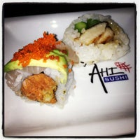 Photo taken at Ahi Sushi by Erin A. on 6/26/2013