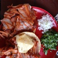"Photo taken at Taquería La Lupita ""Ayuuk"" by Karina G. on 7/8/2013"