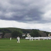 Photo taken at Haslingden Cricket Club by Niall D. on 7/30/2016
