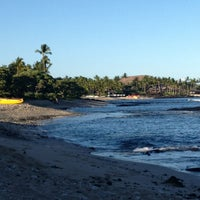 Photo taken at Kukio Beach @ Four Seasons by Tricia M. on 6/28/2013