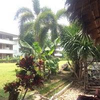 Photo taken at Camelia Resort Kanchanaburi by Vincent v. on 4/14/2014
