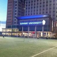 Photo taken at Sunway University by Ryan L. on 5/28/2016