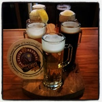 Photo taken at Oak Creek Brewery And Grill by Sean S. on 6/11/2013