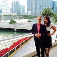 Photo taken at Azul at Mandarin Oriental, Miami by Sandra A. on 5/31/2015