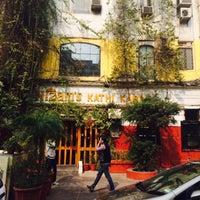 Photo taken at Nizam's Kathi Kabab | निजा़म काठी कबाब by Prithvi on 2/2/2015
