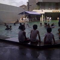 Photo taken at Tirtagangga Hotel by Agustina S. on 7/7/2013