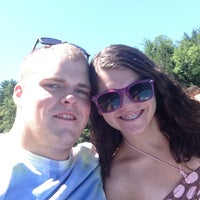 Photo taken at Lake Shaftsbury State Park by Kaitlin B. on 8/5/2013