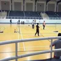 Photo taken at Salah AlDin Sports Hall صالة صلاح الدين الرياضية by Jihan M. on 10/11/2013