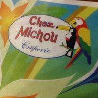 Photo taken at Chez Michou Crêperie by Bruna V. on 7/5/2013