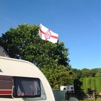 Photo taken at Alton the Star Camping and Caravanning Club Site by Billy T. on 6/20/2014