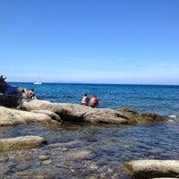 Photo taken at Spiaggia del Cotoncello by Mirko B. on 8/9/2012