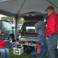 Photo taken at OSU tailgate!! by Doug H. on 9/24/2011