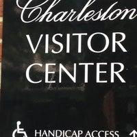 Photo taken at Charleston Visitor Center by Jennifer F. on 7/23/2012