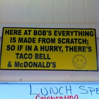 Photo taken at Bob's Taco Station by Philip R. on 4/10/2011