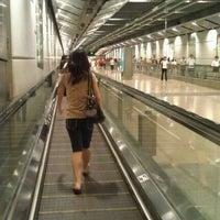 Photo taken at Serangoon MRT Interchange (NE12/CC13) by Sylvia T. on 12/29/2011