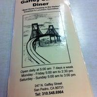 Photo taken at Gaffey Street Diner by Star on 4/22/2012