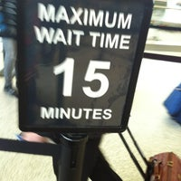 Photo taken at TSA Security Checkpoint by Bye on 12/9/2011
