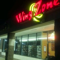 Photo taken at Wing Zone by David V. on 5/30/2012