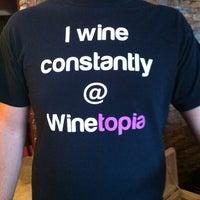 Photo taken at Winetopia by Lgenius2001 K. on 7/29/2011