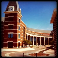 Photo taken at Baylor Sciences Building by Christy L. on 9/19/2011