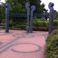 Photo taken at Dunedin Botanic Garden by Nathan L. on 12/24/2010