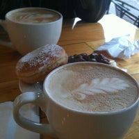 Photo taken at Mighty-O Donuts by Genessa F. on 12/6/2011