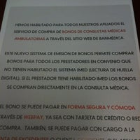Photo taken at Isapre Banmédica by Patricio Enrique O. on 1/27/2012