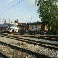 Photo taken at Kolodvor Savski Marof by Sinisa on 4/15/2011