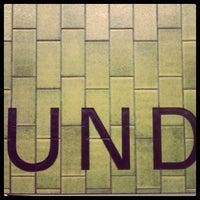 Photo taken at Dundas Subway Station by Yuli S. on 11/12/2011