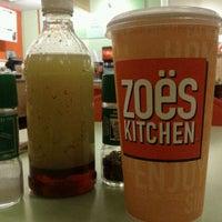 Photo taken at Zoës Kitchen by David M. on 1/25/2012