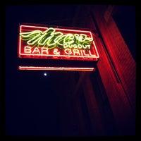 Photo taken at MC's Dugout Bar & Grill by Vida B. on 5/3/2012